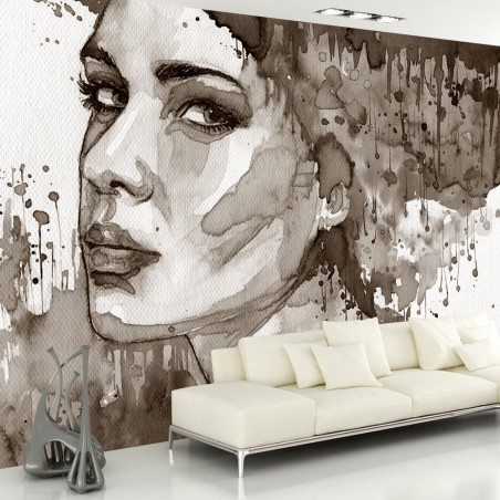 Fotomurale - Black Lady - Quadri e decorazioni