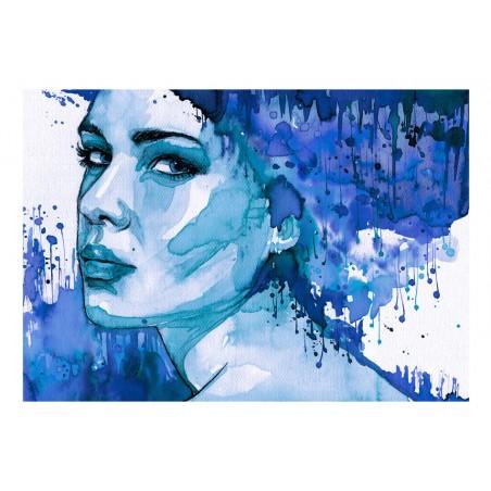 Fotomurale - Blue Lady - Quadri e decorazioni