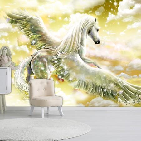 Fotomurale - Pegasus (Yellow) - Quadri e decorazioni