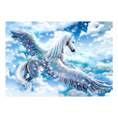 Fotomurale - Pegasus (Blue) - Quadri e decorazioni