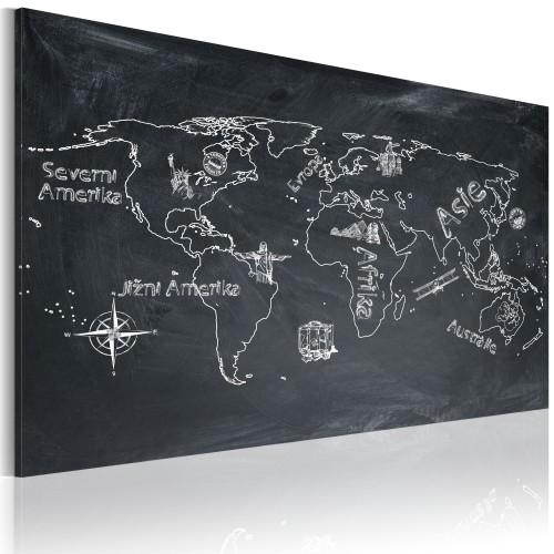 Quadro - Lezione di geografia (lingua ceca) - Quadri e decorazioni