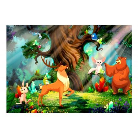 Fotomurale - Bear and Friends - Quadri e decorazioni