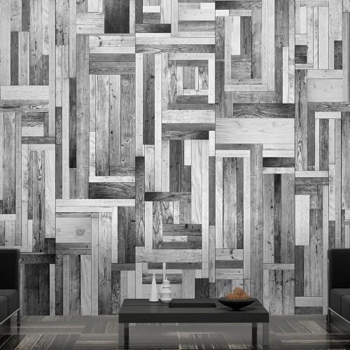 Fotomurale - Labirinto grigio - Quadri e decorazioni