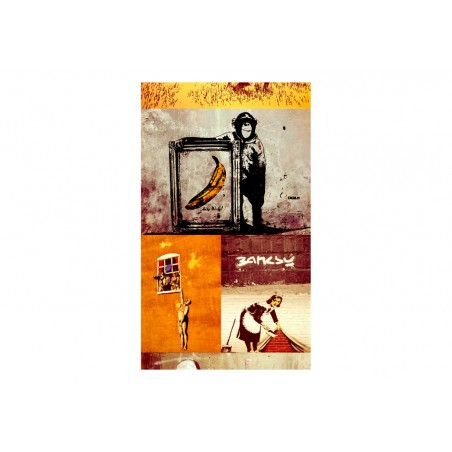 Fotomurale - Collage - Banksy - Quadri e decorazioni