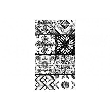 Fotomurale - Arabesque - Black& White - Quadri e decorazioni