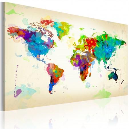 Quadro - All colors of the World - Quadri e decorazioni