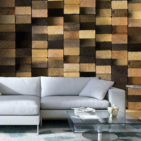 Fotomurale - Protected by the Wooden Weave - Quadri e decorazioni