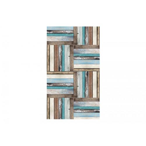 Fotomurale - Wooden weave of colors - Quadri e decorazioni