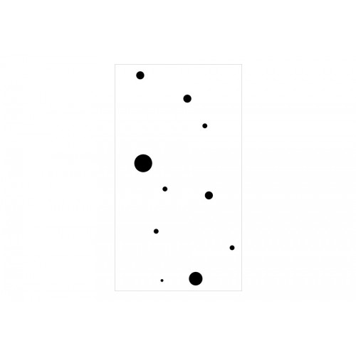 Fotomurale - Stylish Dots - Quadri e decorazioni