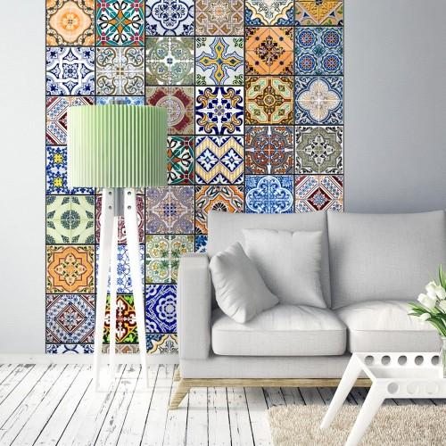 Fotomurale - Mosaico variopinto - Quadri e decorazioni