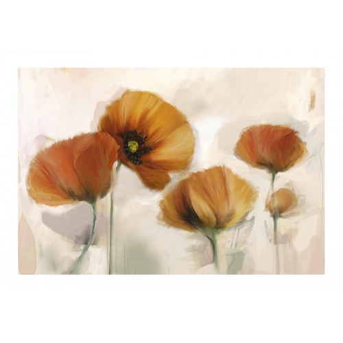 Fotomurale - poppies - vintage - Quadri e decorazioni