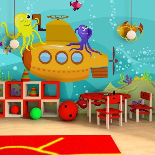 Fotomurale - Sottomarino - Quadri e decorazioni