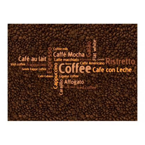 Fotomurale - Latte, espresso, cappucino... - Quadri e decorazioni
