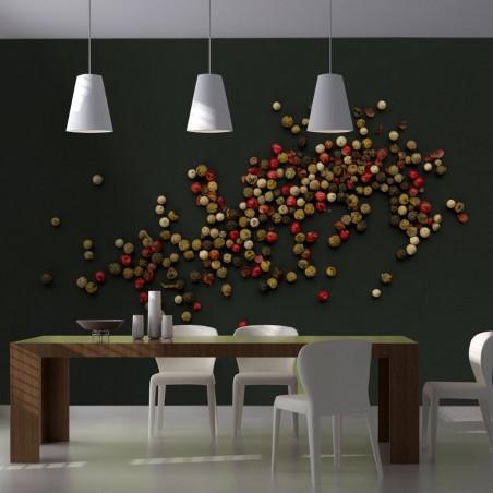 Fotomurale - Composizione di pepe colorato - Quadri e decorazioni