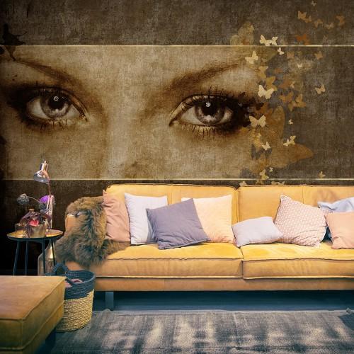 Fotomurale - Donna e farfalle - Quadri e decorazioni