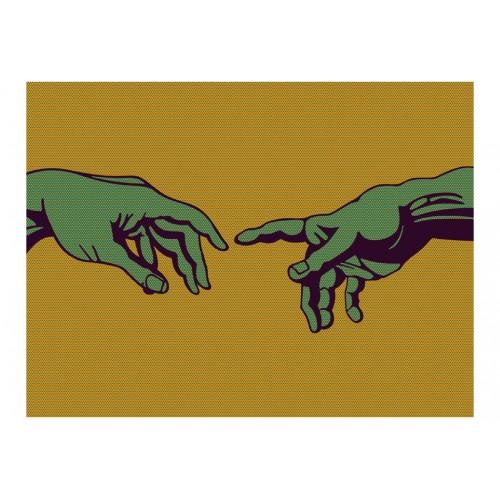 Fotomurale - Green touch - Quadri e decorazioni