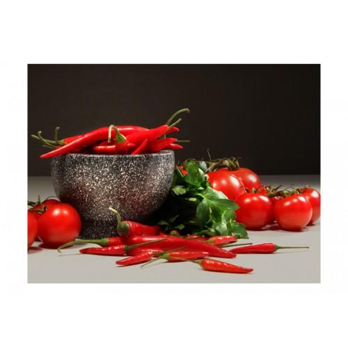 Fotomurale - Dicotomia rossa - Quadri e decorazioni
