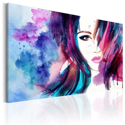Quadro - Watercolor Girl - Quadri e decorazioni