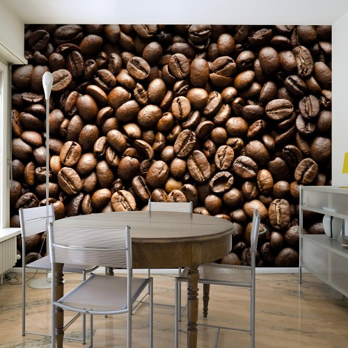 Fotomurale - Roasted coffee beans - Quadri e decorazioni