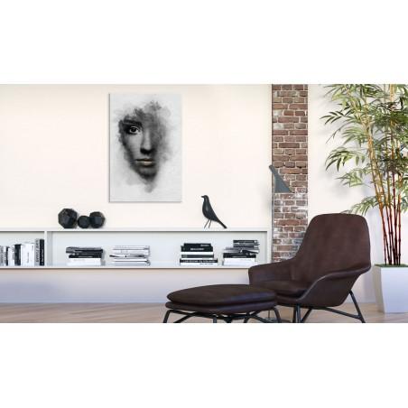 Quadro - Ritratto grigio - Quadri e decorazioni
