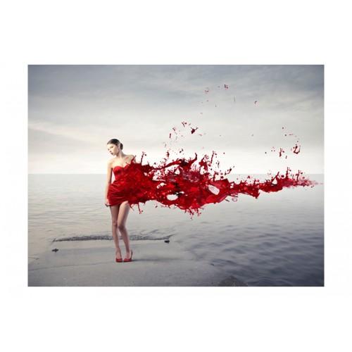 Fotomurale - Red beauty - Quadri e decorazioni
