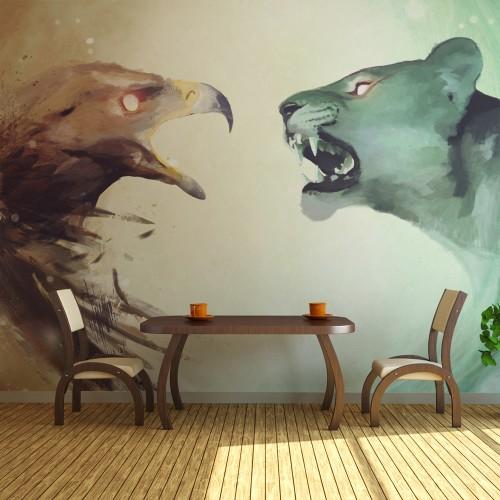 Fotomurale - Interspecies clash - Quadri e decorazioni