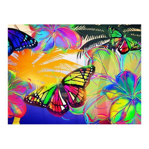 Fotomurale - Butterflies in the stomach - Quadri e decorazioni
