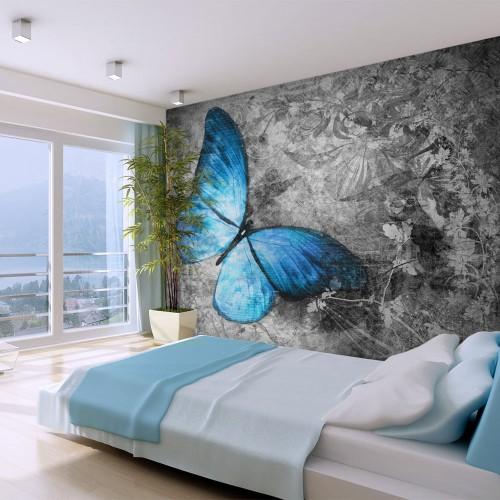 Fotomurale - Blue butterfly - Quadri e decorazioni