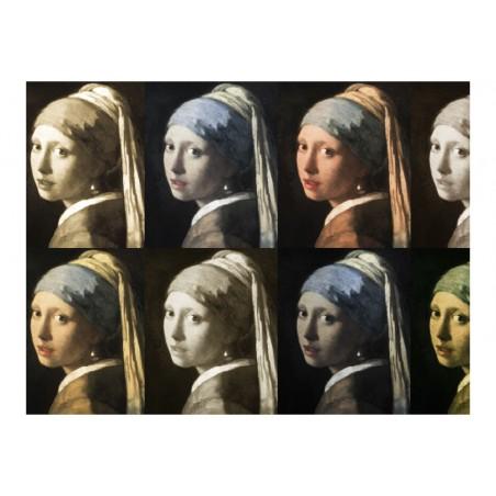 Fotomurale - La ragazza con l'orecchino di perla (Pop Art) - Quadri e decorazioni