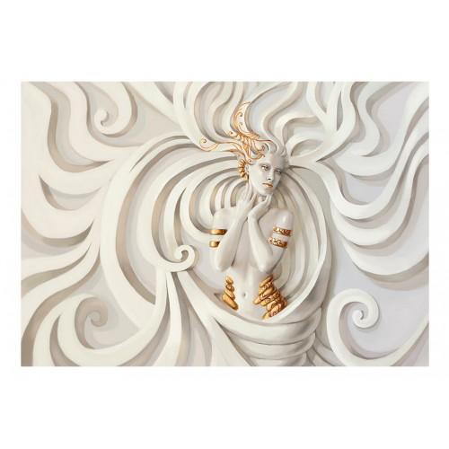 Fotomurale - Goddess In Gold - Quadri e decorazioni