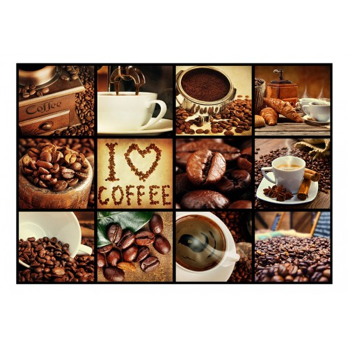 Fotomurale - Coffee - Collage - Quadri e decorazioni