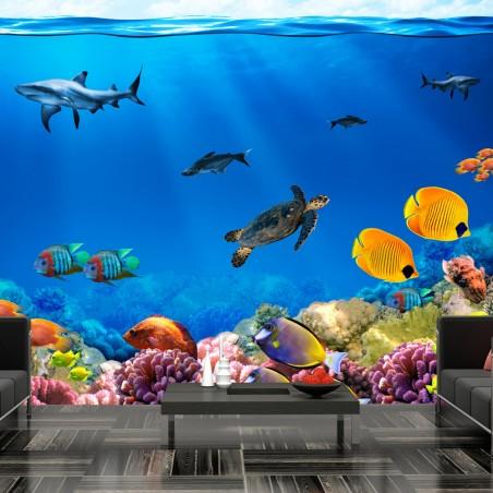 Fotomurale - Regno sottomarino - Quadri e decorazioni