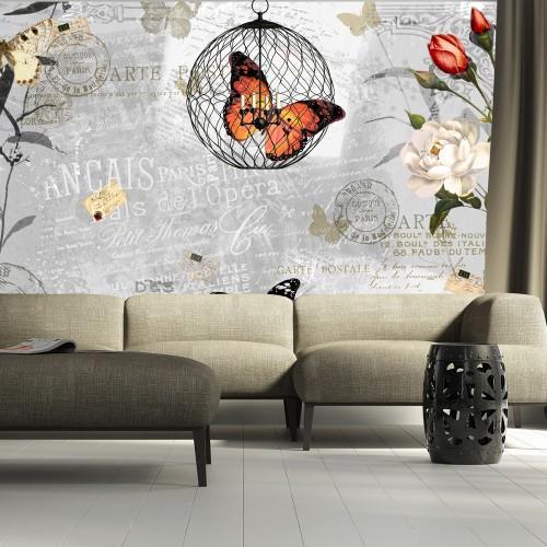 Fotomurale - Canto di Farfalle - Quadri e decorazioni