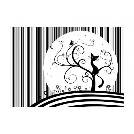 Fotomurale - Melodia di gatto III - Quadri e decorazioni