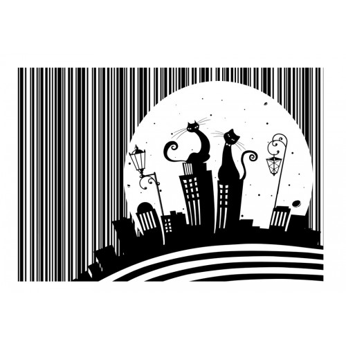 Fotomurale - Melodia di gatto - Quadri e decorazioni