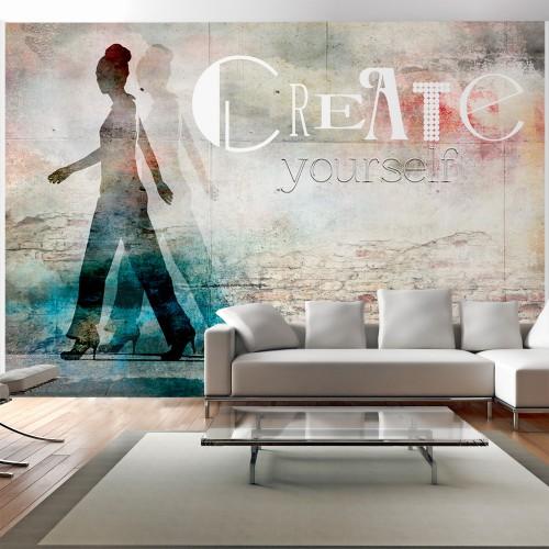 Fotomurale - Create yourself - Quadri e decorazioni