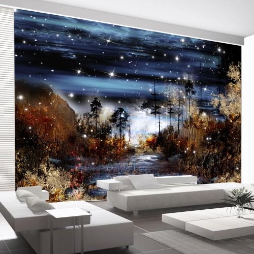 Fotomurale - Foresta magica - Quadri e decorazioni