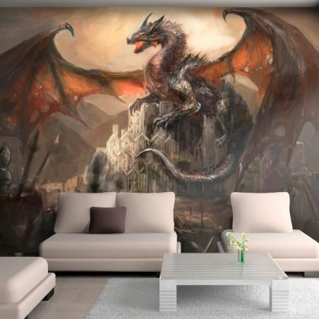 Fotomurale - Dragon castle - Quadri e decorazioni