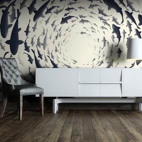 Fotomurale - Fish swirl - Quadri e decorazioni