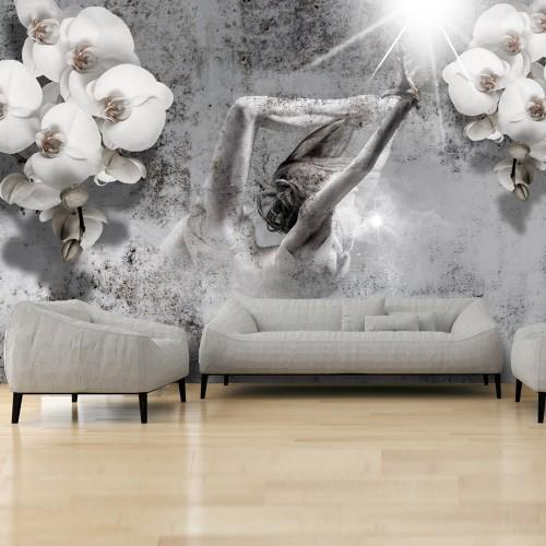 Fotomurale - Arrangement with orchid - Quadri e decorazioni