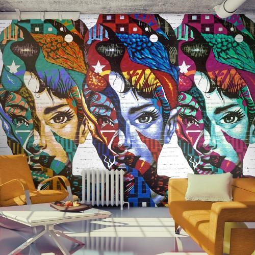 Fotomurale - Colorful Faces - Quadri e decorazioni