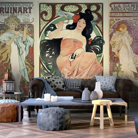 Fotomurale - Alphonse Mucha. Women's - Quadri e decorazioni
