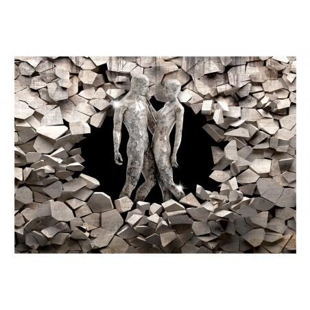 Fotomurale - Love Made of Stone - Quadri e decorazioni
