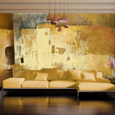 Fotomurale XXL - Golden Oddity II - Quadri e decorazioni