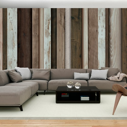Fotomurale XXL - Wooden Fan - Quadri e decorazioni