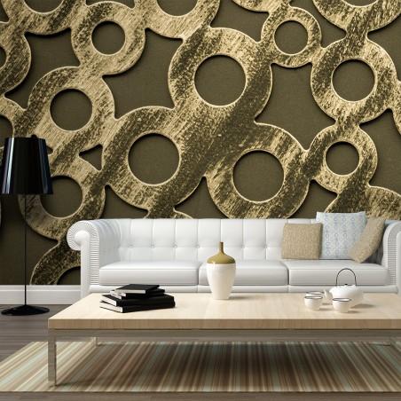 Fotomurale XXL - Anelli di bronzo - Quadri e decorazioni