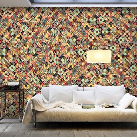 Fotomurale XXL - Rainbow Mosaic - Quadri e decorazioni