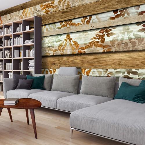 Fotomurale XXL - Wooden Elegance - Quadri e decorazioni