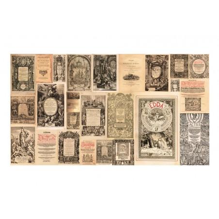 Fotomurale XXL - Vintage Books - Quadri e decorazioni