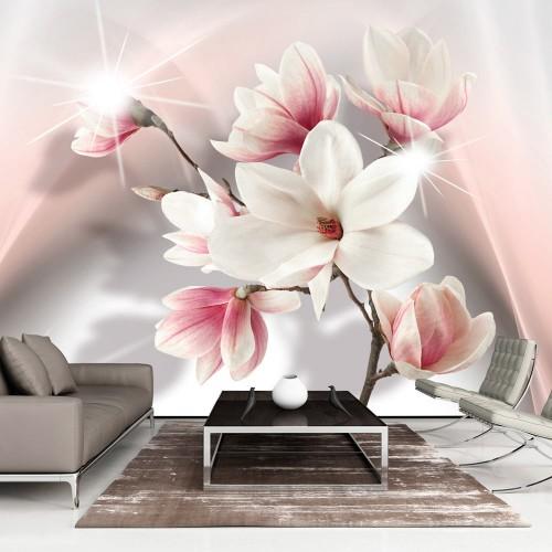 Fotomurale XXL - White Magnolias II - Quadri e decorazioni